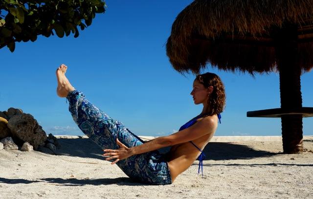 VIA ORGÁNICA: Practica 'El Barco' en Yoga