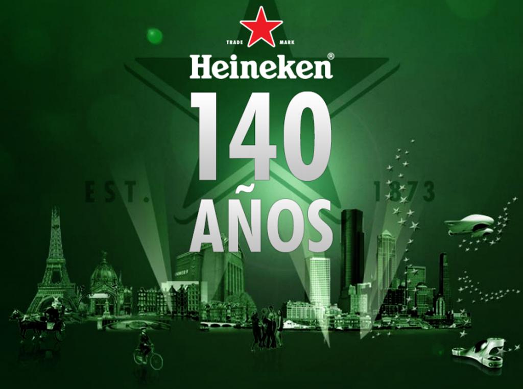 ÉL ESTETA: HEINEKEN 140º ANIVERSARIO