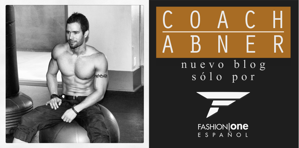 COACH ABNER: ¡NUEVO BLOG EN FASHION ONE!