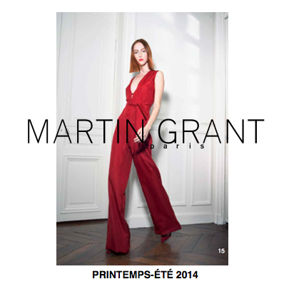 LOOKBOOK: MARTIN GRANT PRIMAVERA 2014
