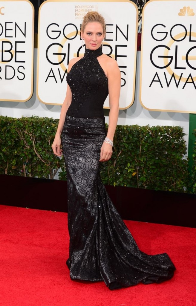 Uma Thurman | Golden Globes© Red Carpet 2014/AFPRELAX©