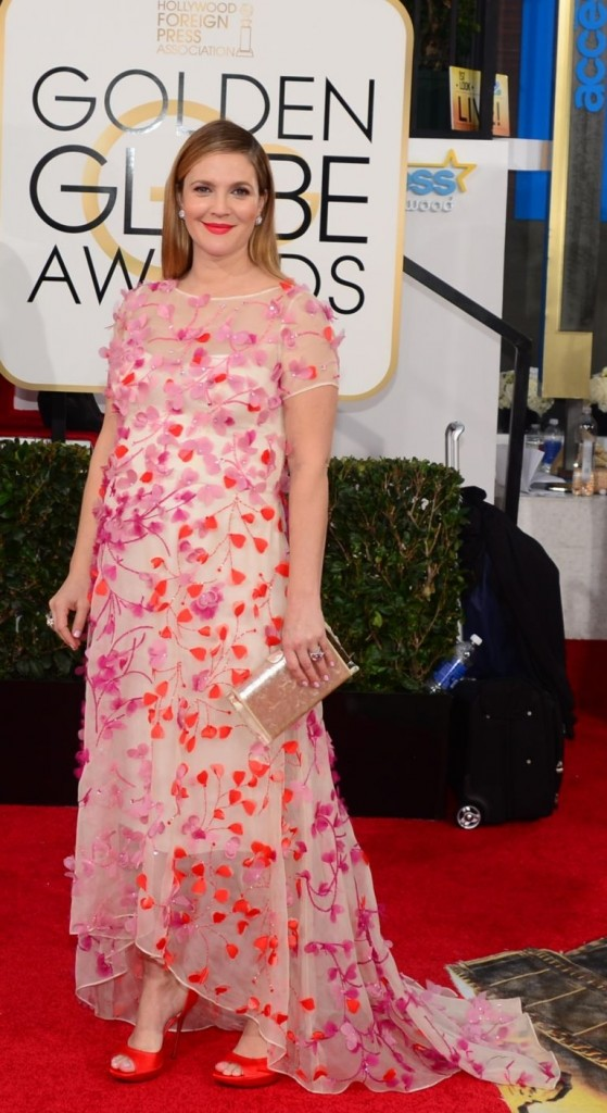 Drew Barrymore | Golden Globes© Red Carpet 2014/AFPRELAX©
