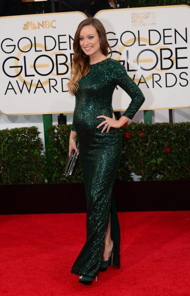 Olivia Wilde   Golden Globes© Red Carpet 2014/AFPRELAX©