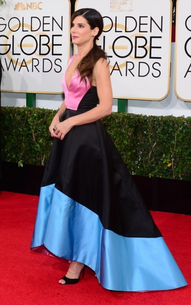 Sandra Bullock en Prabal Gurung | Golden Globes© Red Carpet 2014/AFPRELAX©