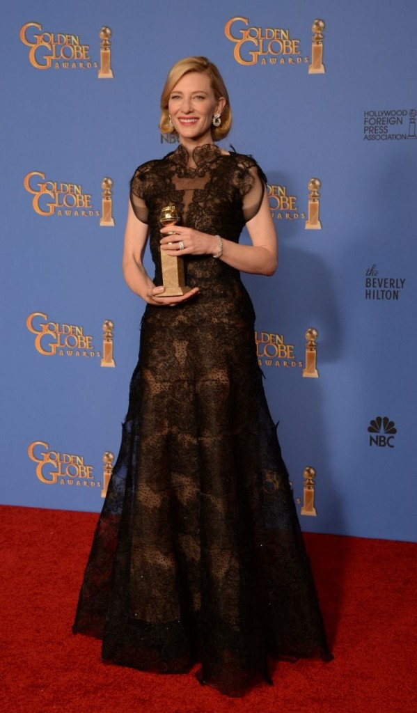 Cate Blanchett en los Golden Globes© Red Carpet 2014/AFPRELAX©